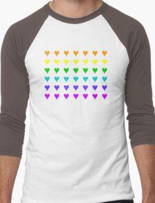 Love Is All Around II Men's Baseball ¾ T-Shirt