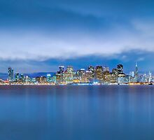 San Francisco Skyline Panoramic photo by Jerome Obille
