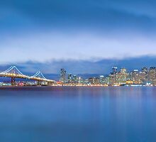 San Francisco City Skyline panoramic photo by Jerome Obille