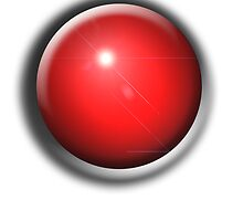 Snooker Ball red by TOM HILL - Designer