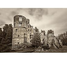 Beaufort Castle, Luxembourg Photographic Print