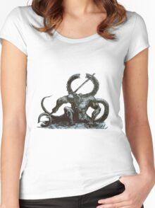Titanite Demon Women's Fitted Scoop T-Shirt