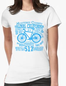 Doug Chandler Performance (Blue) Womens Fitted T-Shirt