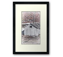 Off the Waterline Framed Print
