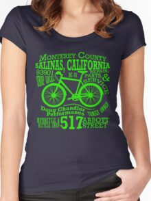 Doug Chandler Performance (Green) Women's Fitted Scoop T-Shirt