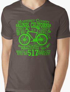 Doug Chandler Performance (Green) Mens V-Neck T-Shirt