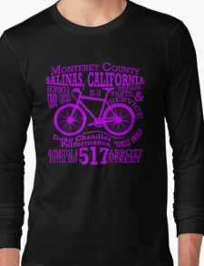 Doug Chandler Performance (Purple) Long Sleeve T-Shirt