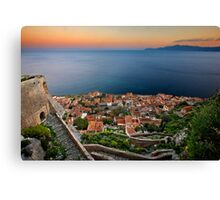 The magic of Monemvasia Canvas Print