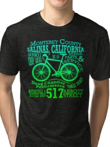 Doug Chandler Performance (Gradient: Blue to Green) Tri-blend T-Shirt