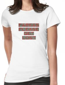 Farkas Please Get Lost Womens Fitted T-Shirt