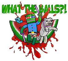 What The Balls!?! by bashurverse