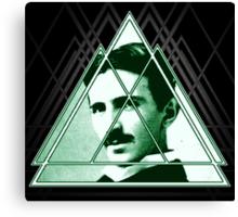 Tri-Tesla Canvas Print