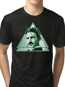 Tri-Tesla Tri-blend T-Shirt