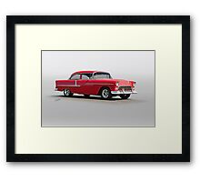 1955 Chevrolet 150 Post Coupe Framed Print