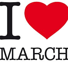 I ♥ MARCH by eyesblau