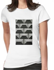 Wall Chess Womens Fitted T-Shirt
