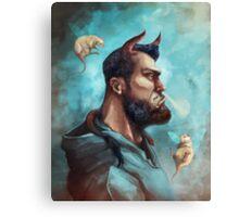 The Tur Bull Canvas Print
