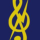 the almighty treble clef. by fadedrecords