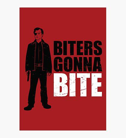Biters Gonna Bite Photographic Print
