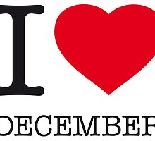 I ♥ DECEMBER by eyesblau