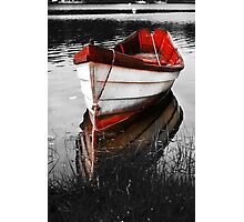 Red Boat Photographic Print