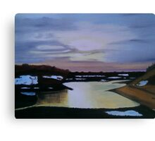 Wintertime In The Moors Canvas Print