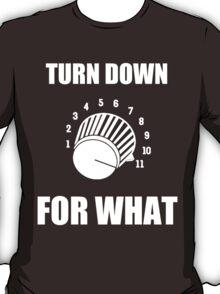 Turn Down 4 WHAT T-Shirt