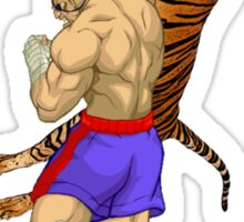 Tiger Uppercut Sticker