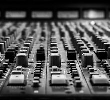 Sound board / Console de son by maophoto