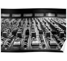 Sound board / Console de son Poster