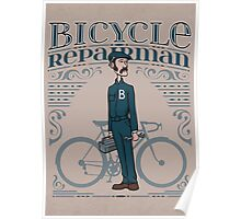 Bicycle Repairman Poster