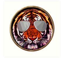 Jungle beast with glasses Art Print