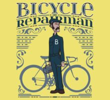 Bicycle Repairman Kids Clothes