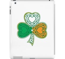Shamrock and Heart Design iPad Case/Skin