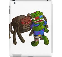 Bashur Hates Spiders! iPad Case/Skin