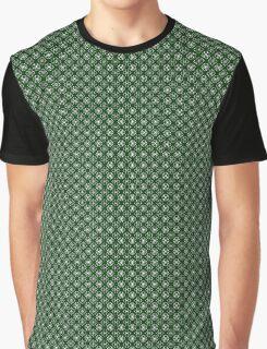Irish Shamrocks All Over Graphic T-Shirt