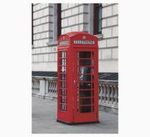 London phone box Kids Clothes