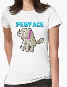 It's Pewface! Womens Fitted T-Shirt