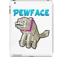 It's Pewface! iPad Case/Skin