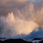 Spectacular Sunset Splash! by Randy Richards