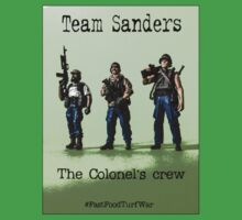 Team Sanders- The Colonel's crew.... #FastFoodTurfWar by Tim Constable