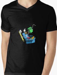Brush & Floss Mens V-Neck T-Shirt