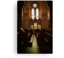 Irish cathedral Canvas Print