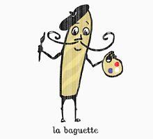 la baguette French bread cartoon Unisex T-Shirt