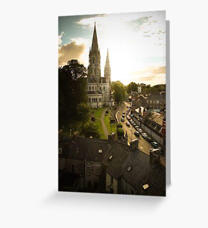 Irish church Greeting Card