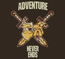 Adventure Never Ends by bleachedink