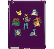 Red and his Team iPad Case/Skin