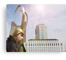 New York is for Norse Gods Canvas Print