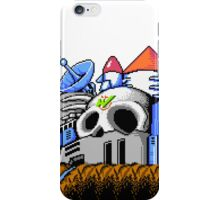 Dr Wily's Castle iPhone Case/Skin