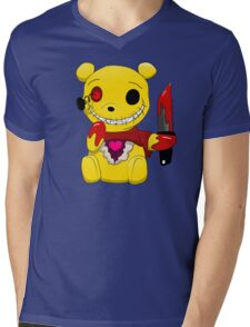 Chibi Winnie the Killer Mens V-Neck T-Shirt